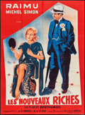 "Movie Posters:Foreign, Les Nouveaux Riches (Fernand Weill, R-1959). French Grande (46"" X 63""). Foreign.. ..."