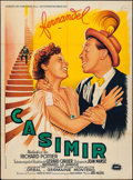 "Movie Posters:Foreign, Casimir (Societe Des Films Sirius, 1950). French Grande (46.5"" X 63.5""). Foreign.. ..."