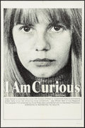 "Movie Posters:Adult, I Am Curious (Yellow) (Grove Press, 1967). One Sheet (27"" X 41""). Adult.. ..."