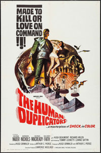"""The Human Duplicators & Other Lot (Woolner Brothers, 1964). One Sheets (2) (27"""" X 41""""). Science Fiction..."""