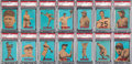 "Baseball Cards:Sets, 1967 Venezuela Topps ""Retirado"" PSA Graded Near Set (38/50). ..."