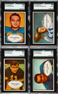 Football Cards:Sets, 1953 Bowman Football Complete Set (96). ...