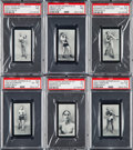 Boxing Cards:General, 1912 Cohen Weenen & Co. Boxing Near Set (24/25) - Green Backs....