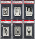 "Boxing Cards:General, 1923 Burstein Isaacs ""Famous Prize Fighters"" Complete Set (50). ..."