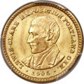 Commemorative Gold, 1905 G$1 Lewis and Clark Gold Dollar MS66+ PCGS....