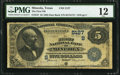 National Bank Notes:Texas, Mineola, TX - $5 1882 Date Back Fr. 537 The First NB Ch. # (S)5127. ...