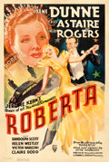 "Movie Posters:Musical, Roberta (RKO, 1935). One Sheet (27"" X 41"").. ..."