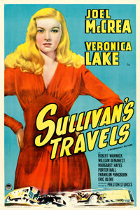 """Sullivan's Travels (Paramount, 1941). One Sheet (27"""" X 41"""") Style A"""