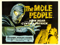 "Movie Posters:Science Fiction, The Mole People (Universal International, 1956). British Quad (30""X 40"").. ..."