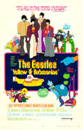 "Movie Posters:Animation, Yellow Submarine (United Artists, 1968). One Sheet (27"" X 41"")Heinz Edelmann Artwork.. ..."