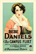 "Movie Posters:Comedy, The Campus Flirt (Paramount, 1926). One Sheet (27"" X 41"") Style A....."