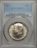 Kennedy Half Dollars, 1966 50C MS67+ PCGS....