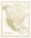 Miscellaneous:Maps, 1838 Map of North America,...