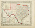 Miscellaneous:Maps, S. Augustus Mitchell County Map of Texas...