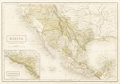"""Miscellaneous:Maps, Map of Mexico and """"Guatimala""""..."""