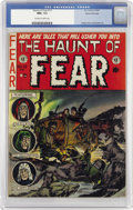 Golden Age (1938-1955):Horror, Haunt of Fear #13 Gaines File pedigree (EC, 1952) CGC NM+ 9.6Off-white to white pages....