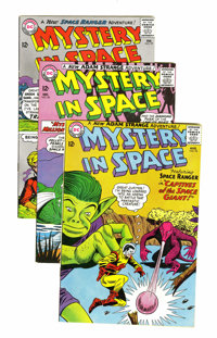 Mystery in Space Group (DC, 1964-66) Condition: Average VF+.... (Total: 8 Comic Books)