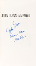 Autographs:Celebrities, John & Annie Glenn and Nick Taylor Signed Book: AMemoir. ...