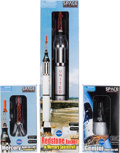 Explorers:Space Exploration, Mercury Freedom 7 Spacecraft, Redstone Rocket with MercurySpacecraft, and Gemini Spacecraft Models from Dragon, a... (Total:3 Items)
