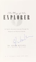 Autographs:Celebrities, Edgar Mitchell Signed Book: The Way of the Explorer. ...