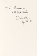 Autographs:Celebrities, Al Worden Signed Book: I Want To Know About A Flight To TheMoon....