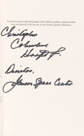 Autographs:Celebrities, Chris Kraft Signed Book: Flight. ...
