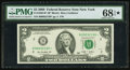 Small Size:Federal Reserve Notes, Fr. 1939-B* $2 2009 Federal Reserve Star Note. PMG Superb Gem Unc 68 EPQ ★ .. ...