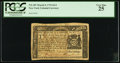 Colonial Notes:New York, New York March 5, 1776 $1/4 PCGS Very Fine 25.. ...