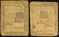 Colonial Notes:Pennsylvania, Pennsylvania December 8, 1775 Very Good. . ... (Total: 2 notes)