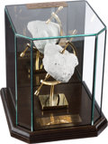 Explorers:Space Exploration, Apollo 15 NASA Authorized Official Lunar Rock Replica, LimitedEdition #15076, in Elegant Display Case. ...