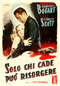 "Movie Posters:Film Noir, Dead Reckoning (Columbia, 1947). Italian 4 - Fogli (55"" X 78.5"")Alfredo Capitani Artwork.. ..."