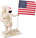 """Explorers:Space Exploration, Apollo 11 Twenty-Fifth Anniversary Limited Edition, 1354/5000, """"ManOn The Moon"""" Porcelain Statue by the United States Histori..."""