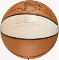 Basketball Collectibles:Balls, John Havlicek Signed Hall of Fame Basketball....