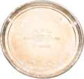 Football Collectibles:Others, 1967 AFL Championship Game Silver Presentational Tray....