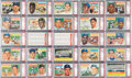 Baseball Cards:Sets, 1956 Topps Baseball PSA Graded Complete Set (340) Plus Checklists(2). ...