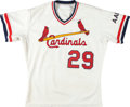 Baseball Collectibles:Uniforms, 1990 Vince Coleman Game Worn St. Louis Cardinals Jersey. ...