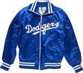 Baseball Collectibles:Others, 1970's Davey Lopes Game Worn Los Angeles Dodgers Jacket....