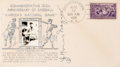 Baseball Collectibles:Others, 1939 Honus Wagner Signed First Day Cover....