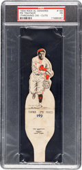 Baseball Cards:Singles (1930-1939), 1934 R304 Al Demaree Die-Cuts Pie Traynor (Throwing) #149 PSA Poor1 - Only Two Graded. ...