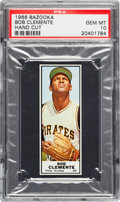 Baseball Cards:Singles (1960-1969), 1968 Bazooka Roberto Clemente PSA Gem MT 10 - Pop Two. ...
