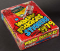 "Non-Sport Cards:Unopened Packs/Display Boxes, 1979 Topps ""Wacky Packages Stickers"" Series 1 Wax Box With 36Unopened Packs. ..."