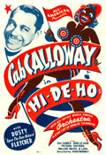 "Movie Posters:Black Films, Hi De Ho (All-American, 1947). One Sheet (27"" X 41"").. ..."