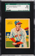 Baseball Cards:Singles (1930-1939), 1934-36 Diamond Stars Lefty Grove #1 SGC 80 EX/NM 6....