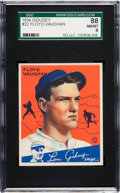 Baseball Cards:Singles (1930-1939), 1934 Goudey Floyd Vaughan #22 SGC 88 NM/MT 8....