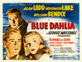 "Movie Posters:Film Noir, The Blue Dahlia (Paramount, 1946). British Quad (30"" X 40"").. ..."