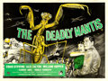 "Movie Posters:Science Fiction, The Deadly Mantis (Universal International, 1957). British Quad (30"" X 40""). Science Fiction.. ..."