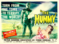 "The Mummy (Universal International, 1959). British Quad (30"" X 40"")"