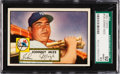 Baseball Cards:Singles (1950-1959), 1952 Topps Johnny Mize #129 SGC 92 NM/MT+ 8.5 - Pop Two, NoneHigher. ...