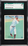 Baseball Cards:Singles (1930-1939), 1933 Goudey Ben Chapman #191 SGC 88 NM/MT 8 - Only One Higher. ...