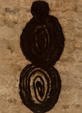 Paintings, Ana Mendieta (1948-1985). Untitled (Amategram), 1981. Acrylic on amate (Mexican bark paper). 16 x 11-1/2 inches (40.6 x ...